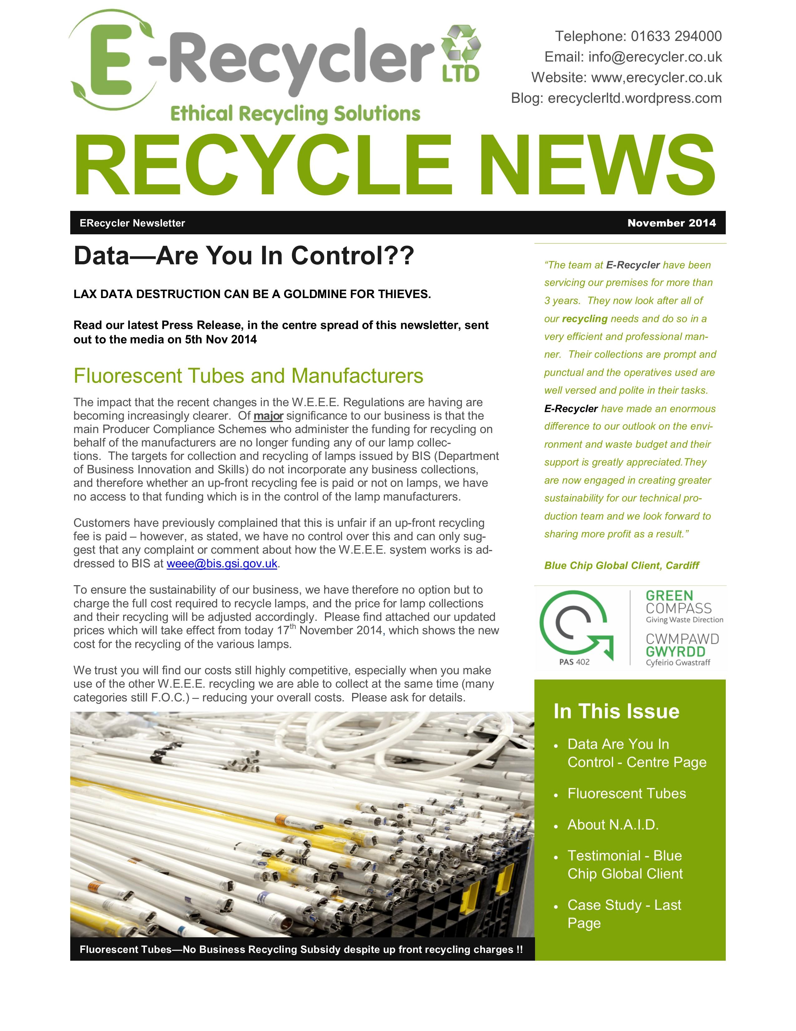 November Business Newsletter